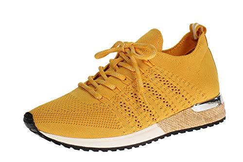 La Strada 1802649 Sneaker Knitted Yellow 40