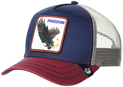 Goorin Bros. Trucker Cap - Let It Ring/Freedom/Eagle - Navy/Red - One-Size
