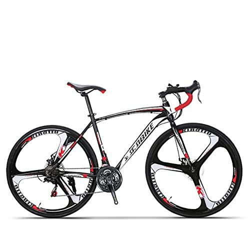 Bike di Mountain Mountain Bike, 26 pollici 21 Velocità Bike a sospensione intera, 3 razze Ruote di alluminio del disco del disco Bicicletta Bicicletta per biciclette Bici da ciclismo per Uomo / Donne