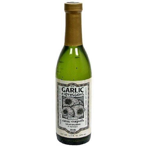Garlic Expressions Classic Vinaigrette Salad Dressing, (Pack of 3) 12.5 ounces each