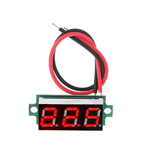 22mm AC 50-380V Temperature Indicator Light LED Digital Display Measuring Induction Thermometer by Keaiduoa