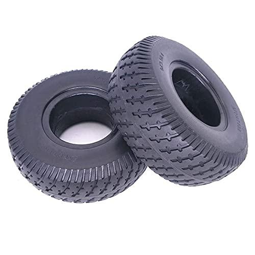 JAJU Neumáticos para patinetes eléctricos, 9x3.50-4 sólidos Antideslizantes Resistentes al Desgaste y...