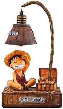 Kimkoala Anime One Piece Luffy Figures Cute Cartoon Anime One Piece Luffy Figure with Night product image