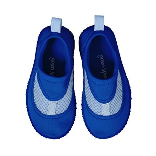 i play. 706301-620-60 - Zapatos de natación, tamaño 4, color azul