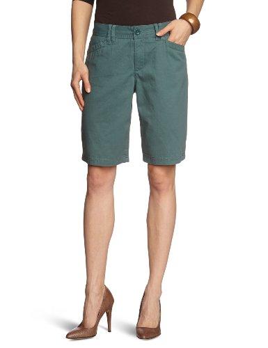 Eddie Bauer Damen Short 21307915, Gr. 32/Shorts (4), Blau (Petrol)