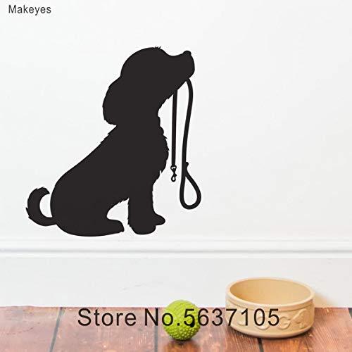 Etiqueta de la Pared del Hospital para Mascotas Perro Animal Etiqueta de la Pared Linda Cachorro Habitación de los niños Calcomanía de Pared Vinilo Inicio Decoración de la Pared Amor Regalo Formaci