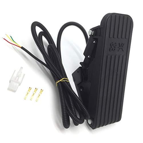 Qiman Elektroroller Fußpedal Gas Ebike Elektrische Dreirad Gaspedal Geschwindigkeitsregelung Fahrrad Kit