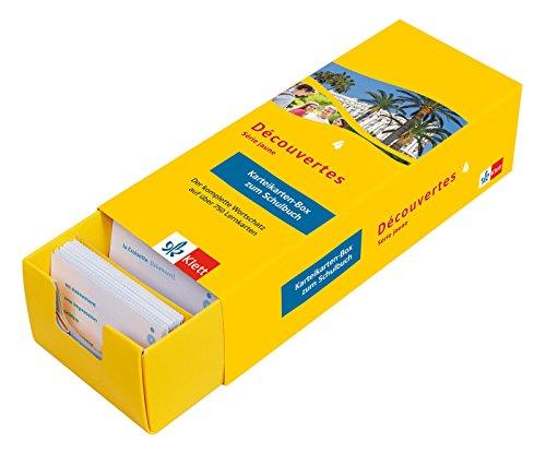 Découvertes Série Jaune 4 - Vokabel-Lernbox zum Schulbuch: Französisch passend zum Lehrwerk üben