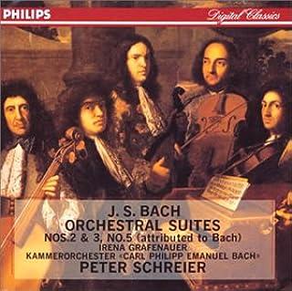 バッハ:管弦楽組曲第2&3&5
