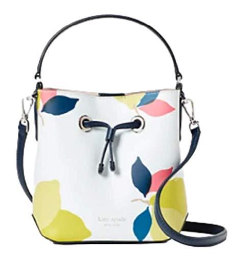 Eva Lemon Zest Small Bucket Crossbody Shoulder Bag