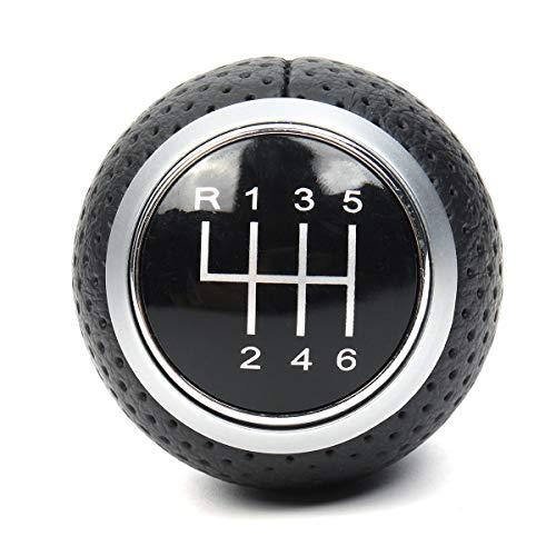 Viviance 6 Speed Gear Shift Knob Für Audi A4 B6 B7 B8 A6 S4 8K A5 8T Q5 8R S Line Ibiza 6J Seat Leon Mk1 Passat Golf MK4