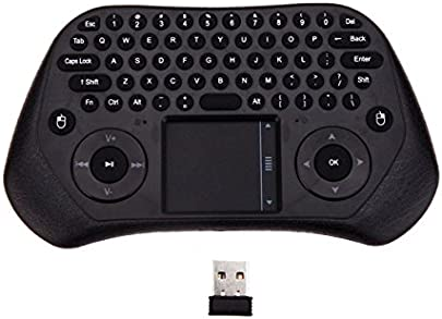 Measy GP800 nbsp Hand Ultra Mini QWERTY 79 nbsp Schl ssel Touchpad Fernbedienung 2 4 nbsp GHz Wireless Tastatur Air Smart Maus M use mit USB Empf nger f r TV-Box PC Laptop Tablet Projektor Schätzpreis : 24,02 €