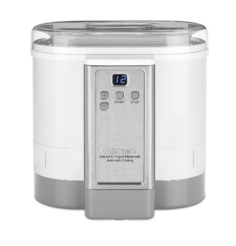 Our #4 Pick is the Cuisinart CYM-100 Electronic Yogurt Maker