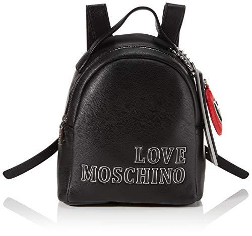 Love Moschino Damen JC4240PP0BKG0000 Rucksack, Schwarz, Normale