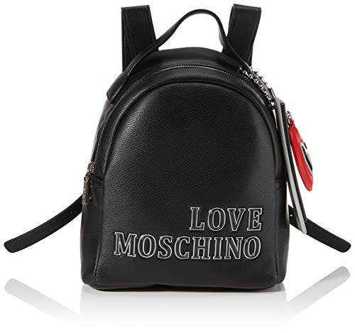 Love Moschino Women's JC4240PP0BKG0000 Backpack, Black, Normale