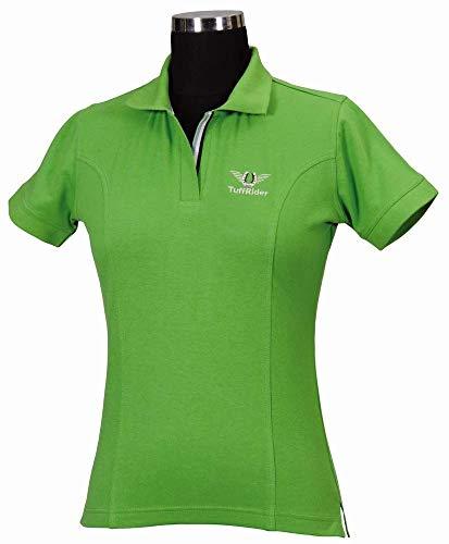 TuffRider Damen Poloshirt XXL apfelgrün