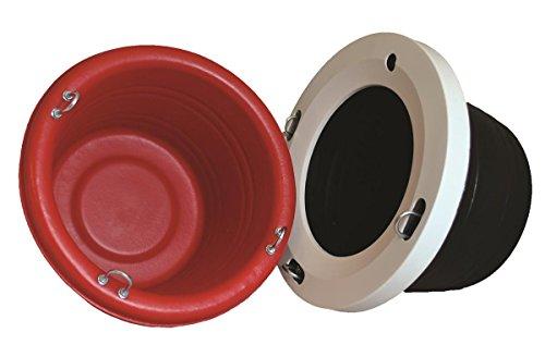 Horsemen's Pride 038301 Mini Feed Tub Red, 18 Quart