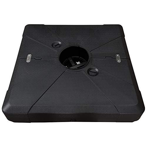 PURPLE LEAF Offset Umbrella Base Cantilever Umbrella Base, 330 pounds
