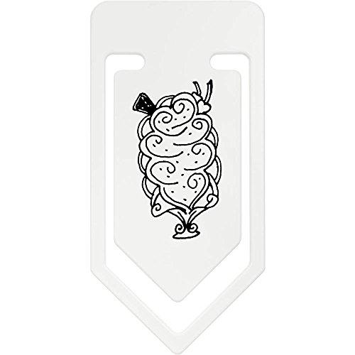 Azeeda 141mm 'Eisbecher' Riesige Plastik Büroklammer (CC00037503)