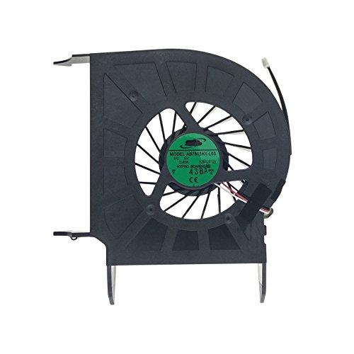 HP Ventilador 532617-001 Compatible Compaq Pavilion dv6-2000 | dv6-2010ep | Dv6-2147ES | DV6-2160es | DV7-3110SS y Part Number 535442-001 | AB7805HX-L03