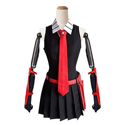 YYFS Disfraces de Anime Cosplay, Comics, Game Uniforms, Halloween, Carnaval, Disfraces, Corbatas, Cinturones y Bolsas de Escuela Conjunto Completo, versión Masculina,Men's Suits -X-Large