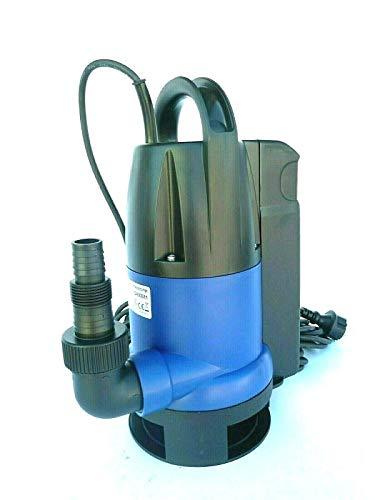 CHM GmbH Schmutzwasserpumpe 550 Watt, Tauchpumpe 10000 L/h 0,7 Bar Druck