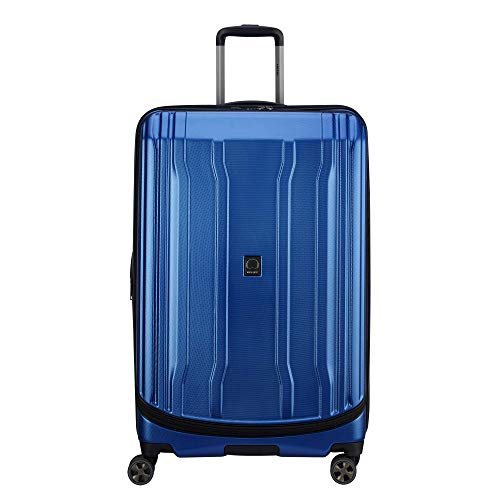 DELSEY Paris Cruise Lite Hardside 2.0 Expandable Luggage, Spinner Wheels, Blue, Checked-Large 29 Inch