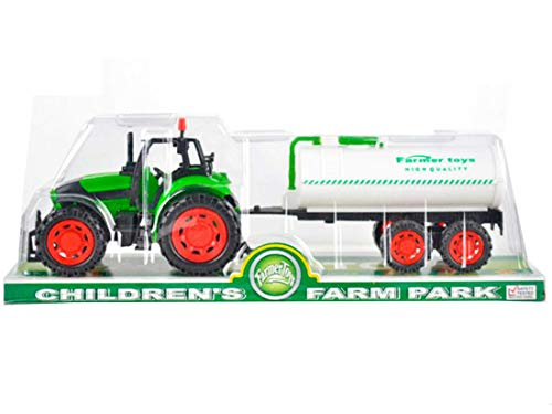 VICTORIA PARTY Tractor con Cisterna 37x10x12cm