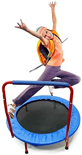 38??Mini Trampoline Fitness for volwassenen en kinderen, veilig opgevangen LIiable Bounce rebounder trampoline for de binnentuin Session training Cardio Training