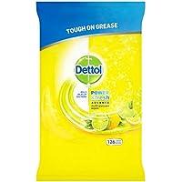 Dettol Potencia y fresca Citrus Zest–126por paquete