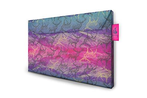 Crispy Wallet Slimsleeve mit Retina Display für MacBook Pro 38,1 cm (15 Zoll) pink bergwelt