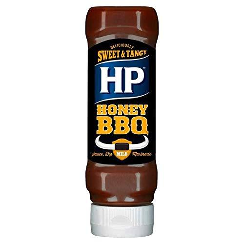 HP Rich & Smokey Honey BBQ Salsa al Miele per Barbecue - 1 x 465 Grammi