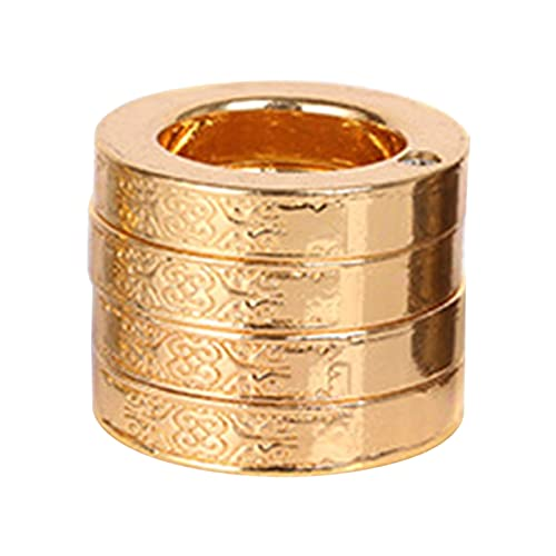 TPTPMAY Retro Magic Ring Personalisierter 4-Finger-Ring Multifunktionaler Outdoor-Kletter-Notfall-Zubehör Notfall-Ring