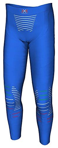X Bionic Junior Invent UW Pants Long sous-vêtement Technique Multisport, Mixte Enfant, Bleu (Blue Italy), 6/7 Ans