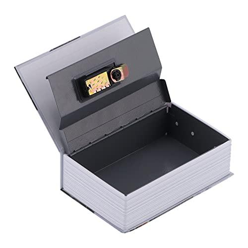 HAOX Caja de Dinero, contraseña del hogar de la Moneda de Escritorio en Forma de Libro de la Caja Fuerte para el Almacenamiento para el Regalo
