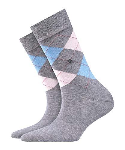 BURLINGTON Damen Socken Covent Garden - 80% Baumwolle, 1 Paar, Grau (Anthracite 3629), Größe: 36-41