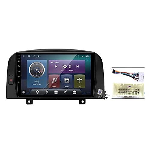 CIVDW 9 pulgadas pantalla Android 11 coche estéreo para Hyundai Sonata NF 2004-2008 incorporado Carplay auto soporte control de voz/Bluetooth 5G WiFi FM AM Radio/espejo Link/navegación GPS SWC