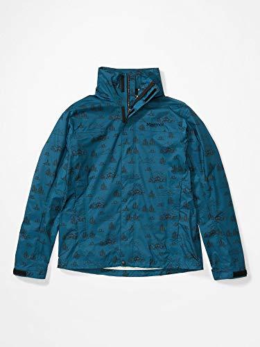 Marmot PreCip Eco Print Jacke Chaqueta Impermeable para Hombre,...