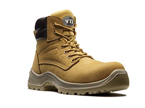 V12Bobcat, Nubuck Derby Boots, Größe variiert, honigfarben, 04, honig, 2