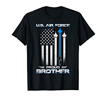 U.S Air Force Stars Air Force Proud Brother T-Shirt