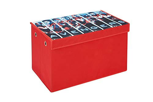 Fresh Home Elements Bench Toy 24 Avengers Soft Storage