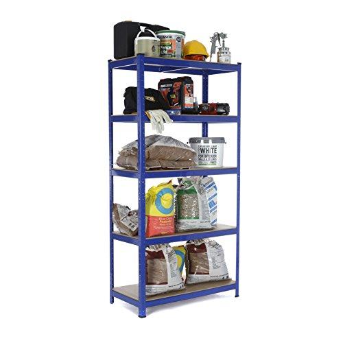 baratos y buenos Soluciones de estantes-Estantes / Estantes de garaje / Sistemas de almacenamiento de acero, Carga … calidad
