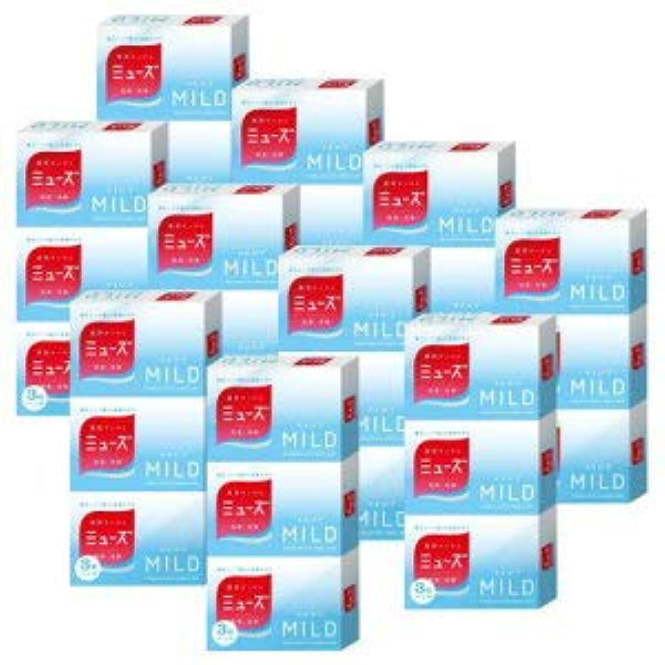 生息地体系的にたとえミューズ石鹸 マイルド〈95g×3個〉×10個セット