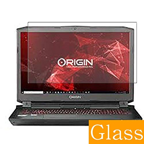 """Synvy Tempered Glass Screen Protector for Origin PC EON17-X 17.3"""" Visible Area 9H Protective Screen Film Protectors (Not Full Coverage)"""