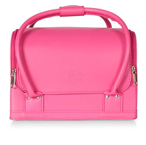 Rio Beauty Beauty - Beauty case professionale per trucchi, colore: Rosa