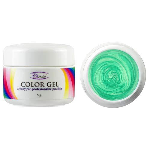Kristel: uv-kleurgel – piruet – 5 g – mintgroene kleur – van hoge kwaliteit, geschikt voor professioneel gebruik.