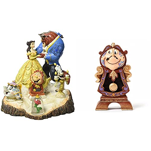Disney Traditions, Figura De %22La Bella Y La Bestia%22, para Colecionistas, Enesco + Traditions, Figura De DIN Don De %22La Bella Y La Bestia%22, Enesco