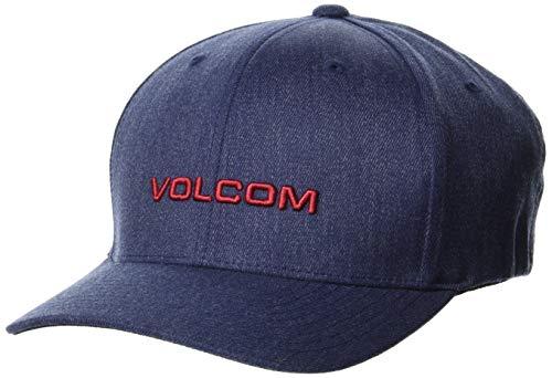 Volcom Euro Xfit Casquette de Baseball pour Homme XL Bleu Marine