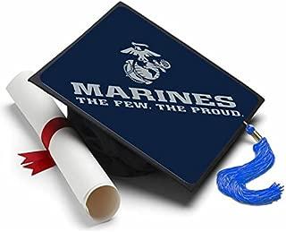Marine Corps - Graduation Caps for Future Marines - Semper Fi - Decorated Grad Caps