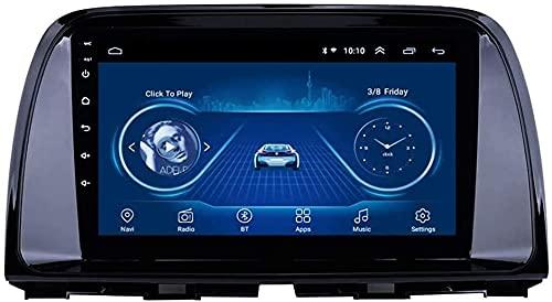 Android 9 MP5 Player Navigator para Mazda CX-5 (2013-2016), 9 Pulgadas Car Radio Stereo Pantalla táctil GPS 2.5D, WiFi, BT, Mirror Link, sintonizador de Radio,1+16G WiFi